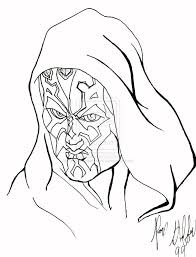 Small Picture Darth Maul Coloring Pages Miakenas Net Coloring Coloring Pages