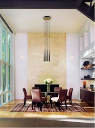 contemporary um tone wood floor dining room idea in dc metro with white walls