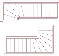 Der rechner bewertet, ob die treppe den allgemeinbekannten. Treppengrundrisse Fur Alle Treppenformen Kostenfrei Herunterladen