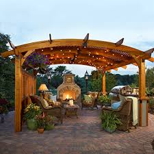 Outdoor Great Room Sonoma Pergola  NW Natural Natural PortlandOutdoor Great Room
