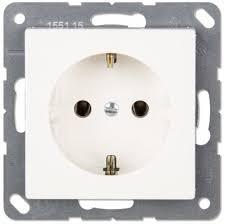 <b>Розетки</b> и выключатели <b>JUNG с заземлением</b> - купить <b>розетки</b> и ...