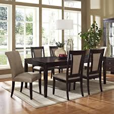 Acme Agatha 7PC White Marble Top Rectangular Dining Room Set In Dining Room Set