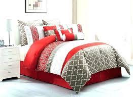 red and black comforter sets solid s set fl queen red and black comforter sets solid s set fl queen