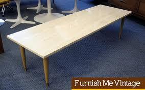 italian marble top long coffee table