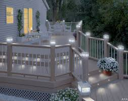 deck lighting ideas. Deck Lighting Ideas Solar Home Decorating And Tips