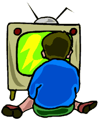 boy watching tv clipart. toddlers watching tv clip art boy tv clipart t