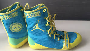under armour boxing shoes. gennady golovkin honors kazakhstan with jordan boxing boots under armour shoes