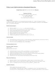 Administrative Assistant Duties Resumes Executive Assistant Job Description Resume Administrative Duties On