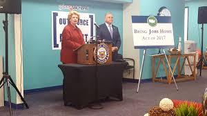 jobs michigan radio u s senator debbie stabenow speaking about the bring jobs home act