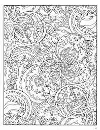 Small Picture Free Printable Paisley Coloring Pages For Adults Coloring Home