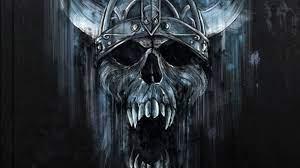 Dark Skull HD Wallpaper