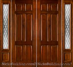 Decorating wood front entry doors with sidelights images : Architecture: Inspiring Entry Door With Sidelights For Your Lovely ...