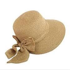 FuzWeb:Summer <b>fashion concise</b> sun hats for <b>women</b> bowknot wide ...