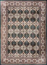 rugsville arts and crafts green ivory heart oriental persian rug 270 x 370