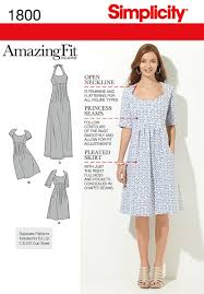 Simplicity Patterns On Sale Extraordinary Simplicity Pattern S48 Misses' Plus Size Dresses Amazing Fit