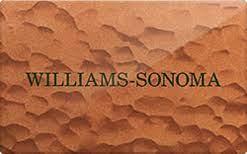 williams sonoma gift card 7