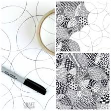 Official Zentangle Patterns Cool Decoration