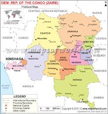 Le Congo Tourist Maps And Major Is Capital Africa Of Pinterest Zaire Map Brazzaville Travel Attractions