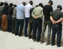 دستگیری 54 خرده فروش مواد مخدر در شیروان