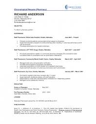 Hospital Pharmacist Resume Examples For Pharmacists Sample In India