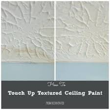 how to touch up textured ceiling paint roller for cover popcorn