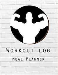Diet Workout Journal Workout Log Meal Planner Book Diet And Exercise Journal