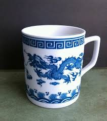 Shop with afterpay on eligible items. Dragon Coffee Mug Cup Asian Chinese Japanese Blue White Mugs Ceramic Tea Cup Mug Cup
