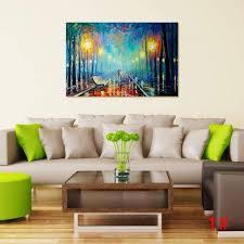Neuda Digital Leinwand ölgemälde Modernes Haus Wand ölgemälde Kunst
