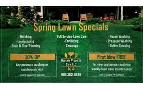 lawncare ad spring lawn care specials pennysaverusa