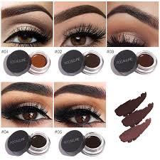 focallure long lasting liquid eyebrow enhancer gel waterproof gel new makeup black gel eyebrows nice delineador em gel to women