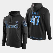 Patch Titans Pullover 20th Black Joshua Kalu - Anniversary Hoodie