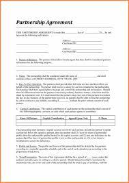 Partnership Agreement Between Companies This Is The Standard Partnership Agreement Of Contract