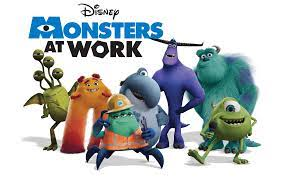 series from Monsters & Co. on Disney ...