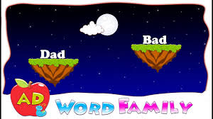 Word With Ad Make A Word With Ad Ad Word Family Ad Rhyming Words Youtube