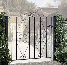 Small Picture Stirling Metal Garden Gate Buy Cheap Wrought Iron Garden Gates