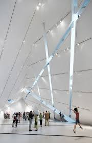 The Crystal by Daniel Libeskind at Royal Ontario Museum (ROM), interior,  Toronto