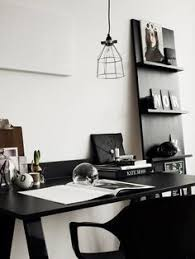Black and white office decor Stylish 20 Home Office Ideas And Color Schemes Pinterest 220 Best Black White Office Images In 2019 Desk Desks Diy