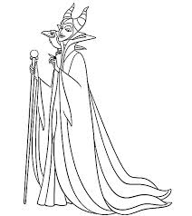 Small Picture Maleficent Setting for Scheming Coloring Pages Color Luna