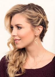 side wrap braid twenty four perfect prom hairstyles makeup tutorials guide