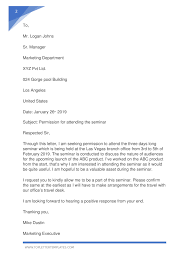 Permission Letters Template Sample Letter Asking Permission To Do Something Pdf
