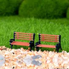fairy garden terrarium. Brilliant Garden 2pcs Dollhouse Miniature Fairy Garden Terrarium Scale Tiny Bench Chair Decor On Terrarium