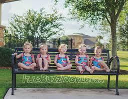 ▷ @busby.girlsss - Busby Quintuplets - Little cuties ❤ . . . #Ava #Riley  #Hazel #Parker #Olivi