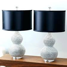 table lamp sets living room set silver plated sea urchin under 100