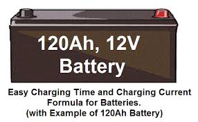 battery charging current battery charging time formula easy battery charging time and battery charging current formula for batteries example of 120ah battery