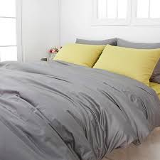 grey duvet cover king reviews