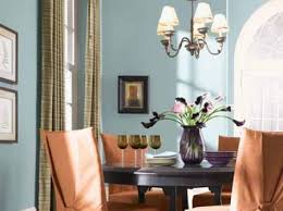 blue dining room color