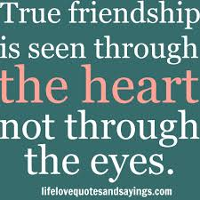 real friendship quote picture sayings