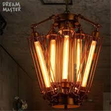 Mutilple Arm Edison Glühbirne Anhänger Kronleuchter Moderne