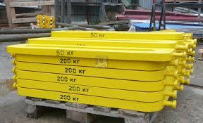 контрольный груз для испытания крана Контрольно испытательный груз сталь