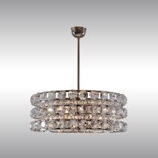 woka lamps vienna 21727 mid century modern crystal chandelier design design woka